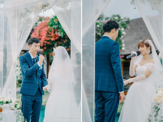 Sky Water Wedding -  Jin & Wang by Eurasia Wedding - 021