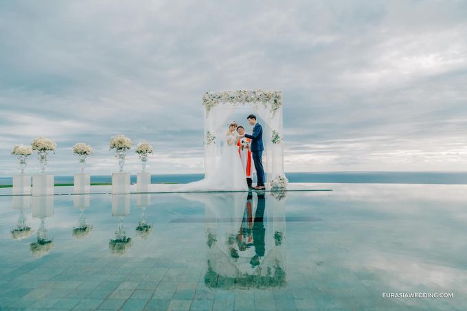 Sky Water Wedding -  Jin & Wang by Eurasia Wedding - 022