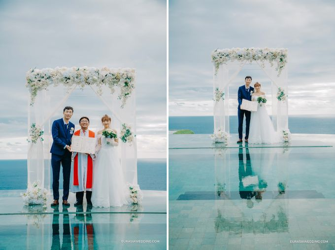 Sky Water Wedding -  Jin & Wang by Eurasia Wedding - 023