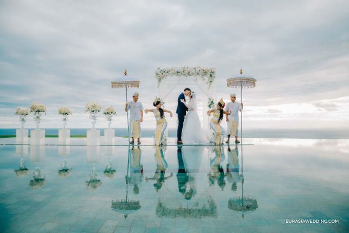 Sky Water Wedding -  Jin & Wang by Eurasia Wedding - 024
