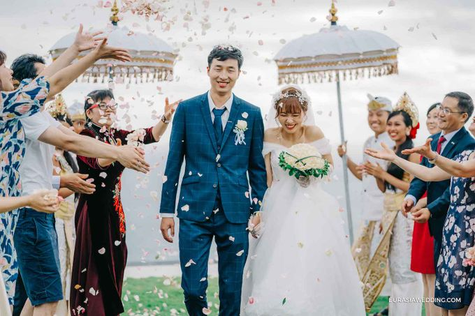 Sky Water Wedding -  Jin & Wang by Eurasia Wedding - 025