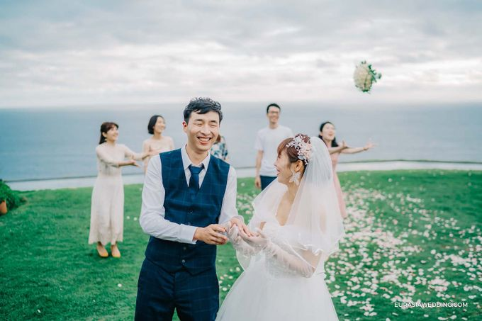 Sky Water Wedding -  Jin & Wang by Eurasia Wedding - 030