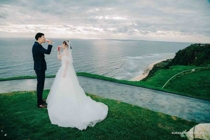 Sky Water Wedding -  Jin & Wang by Eurasia Wedding - 032
