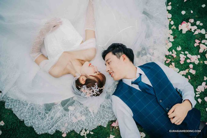 Sky Water Wedding -  Jin & Wang by Eurasia Wedding - 033