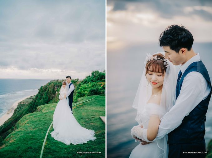 Sky Water Wedding -  Jin & Wang by Eurasia Wedding - 035