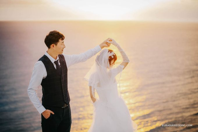 Sky Water Wedding -  Jin & Wang by Eurasia Wedding - 037