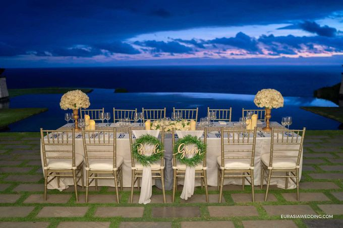 Sky Water Wedding -  Jin & Wang by Eurasia Wedding - 038