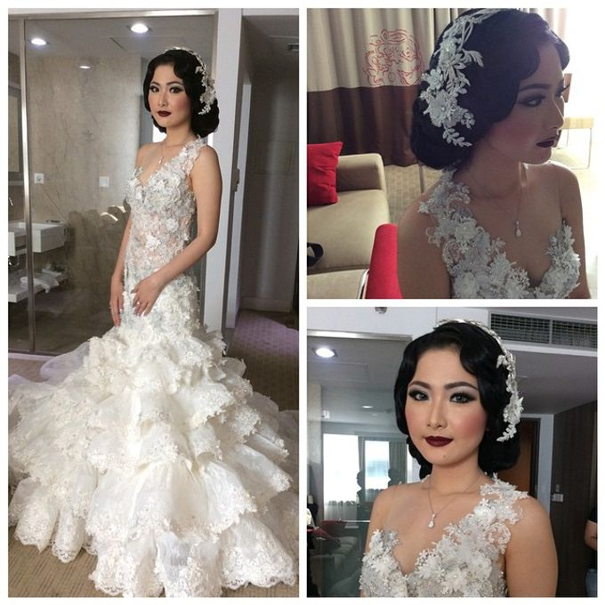 Special Designe Wedding Gown For Ms. Yeria by Tracy Bridal House - 001
