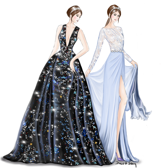 Bridal Illustrations by Draw A Story - 005