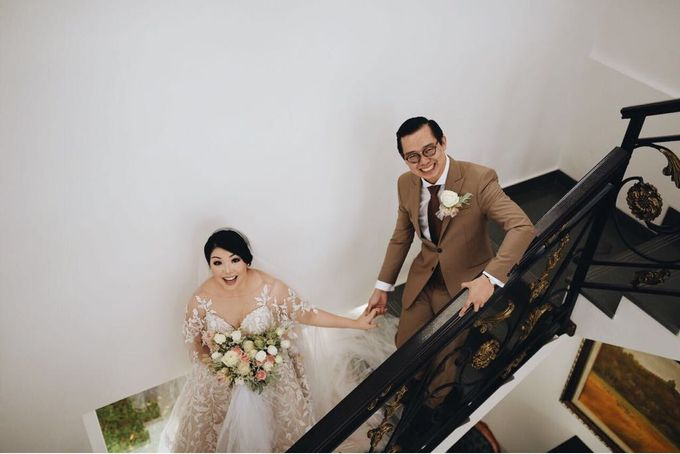 Wedding of Surya & Jessica by Wong Hang Distinguished Tailor - 002