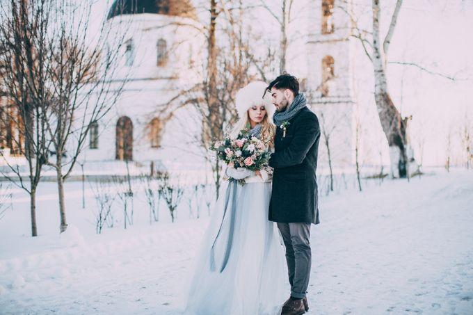Wedding In Gzhel Style by Marina Nazarova Photographer - 037