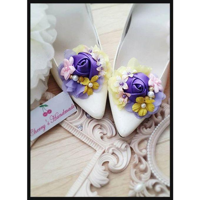 Flowery Shoeclips by Cherry's  Handmade - 007