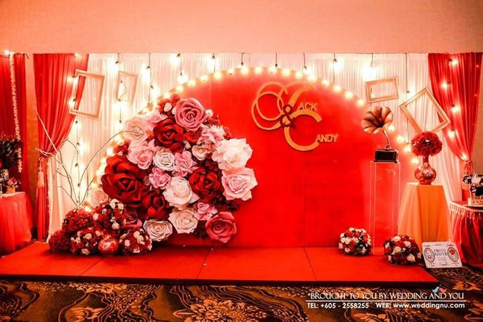 Oriental Wedding Decoration Theme by Wedding And You - 020