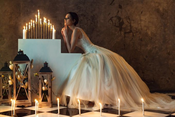 Santi Wedding Dress by Yenny Lee Bridal Couture - 001