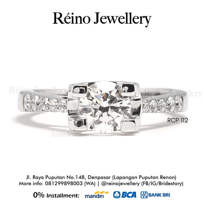 Engagement Ring - Cincin Perempuan by Reino Jewellery - 020
