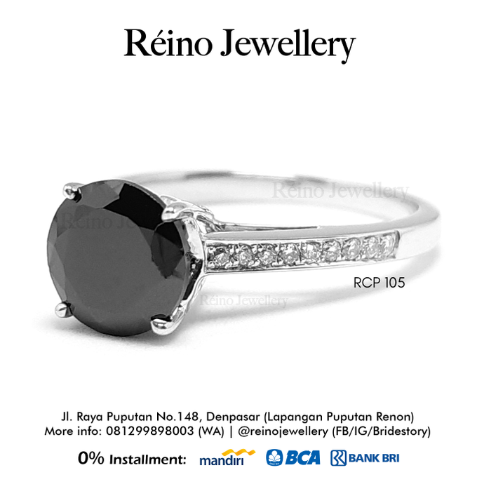 Engagement Ring - Cincin Perempuan by Reino Jewellery - 021