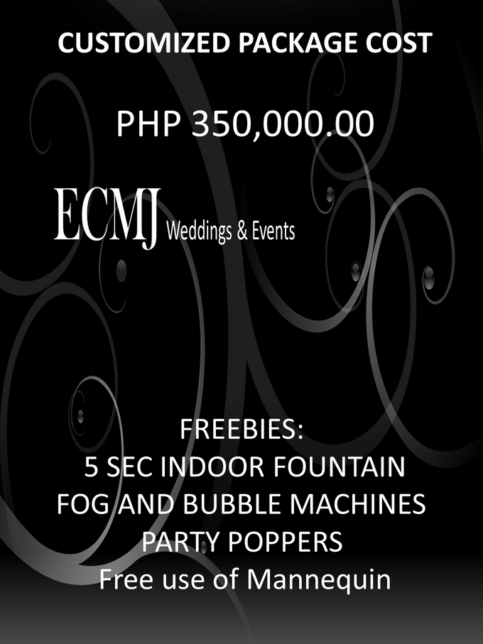 Complete Wedding Package by ECMJ Wedding Planner & Event Management Office - 003