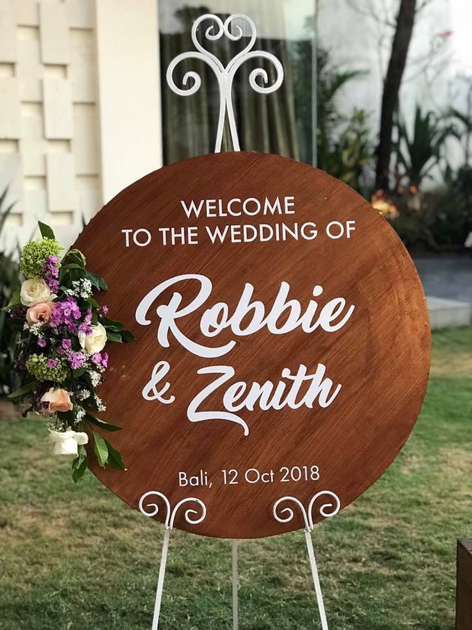 The Wedding of Robbie & Zenith by Oma Thia's Kitchen Catering - 001
