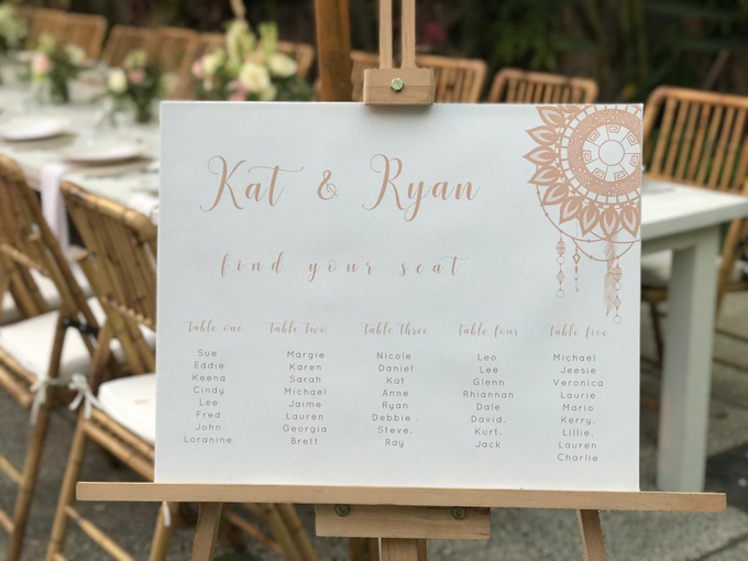 The Wedding of Kat & Ryan by Oma Thia's Kitchen Catering - 006