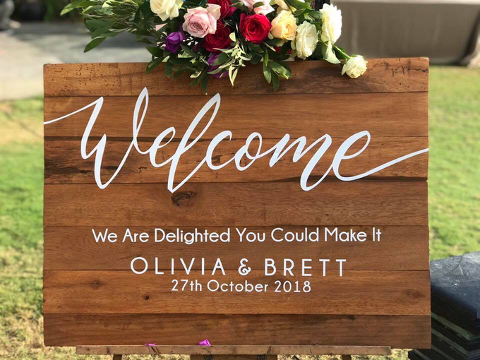 The Wedding of Olivia & Brett by Oma Thia's Kitchen Catering - 001