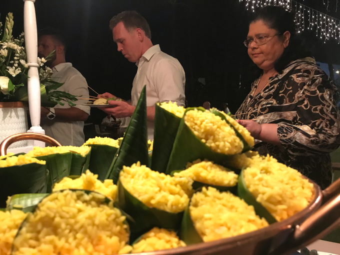 Rachael & Mark - 3.11,2019 by Oma Thia's Kitchen Catering - 017