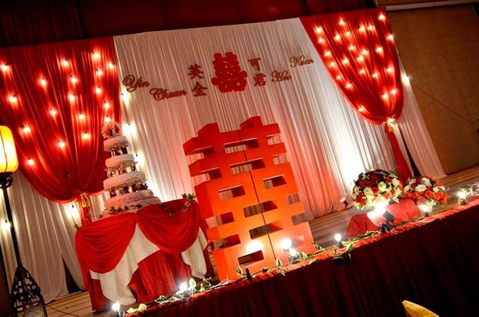 Oriental Wedding Decoration Theme by Wedding And You - 033
