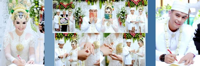 Wedding Novi & Arif by MOMENTO Photography - 005