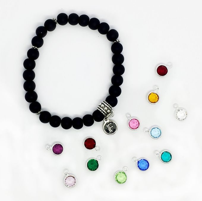 Custom Birthstone and Zodiac Bracelets by FixationShop - 005