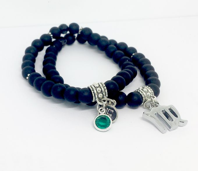 Custom Birthstone and Zodiac Bracelets by FixationShop - 007