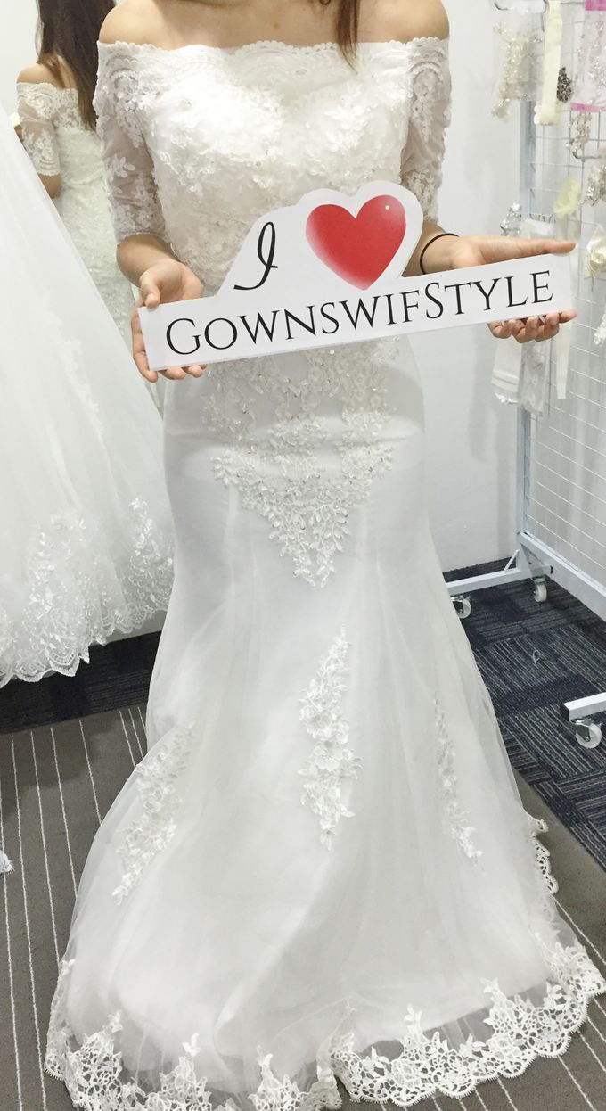 Beautiful Bridal Gowns by Makeupwifstyle - 003