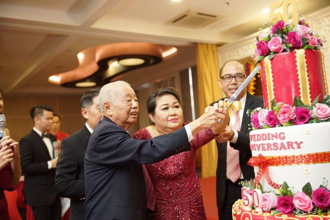 50Th Wedding Anniversary by DESPRO Organizer - 010