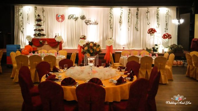 Stage Backdrop Design by Wedding And You - 002