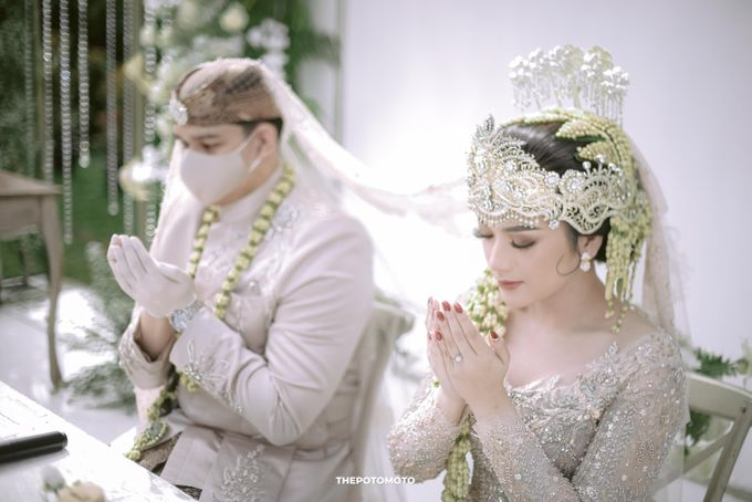 Nabila Harits Akad Nikah by Chandira Wedding Organizer - 014