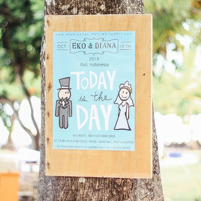 Eko & Diana Wedding by Dekor Indonesia - 004
