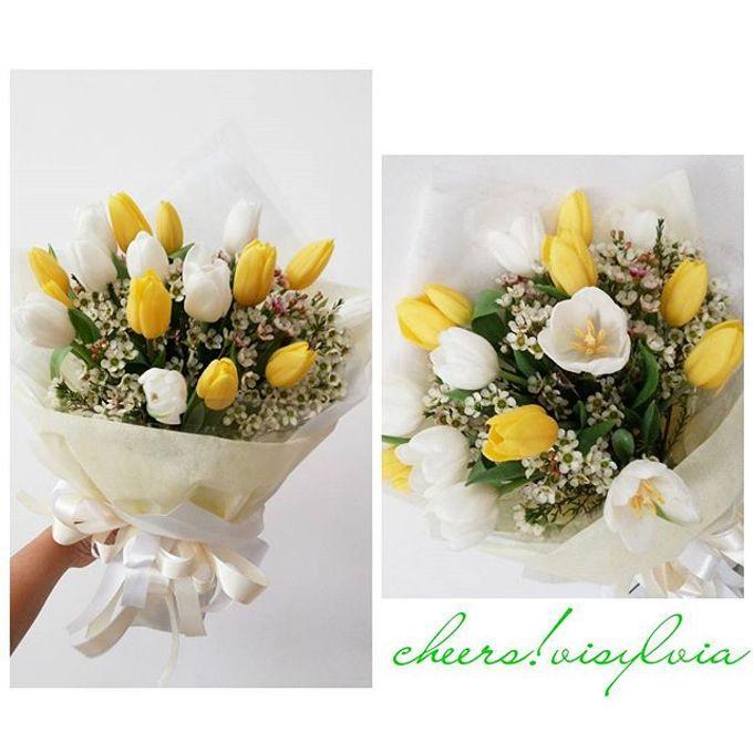 Gift Bouquet  by visylviaflorist - 034