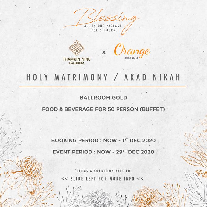 Thamrin Nine Ballroom Jakarta by Orange Organizer - 002