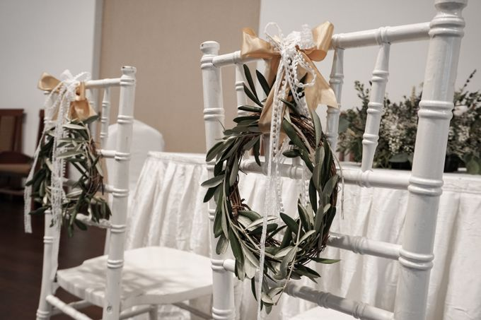 Philip & Cindy Wedding at Thomson Road Baptist Church by Bloomwerks - 002