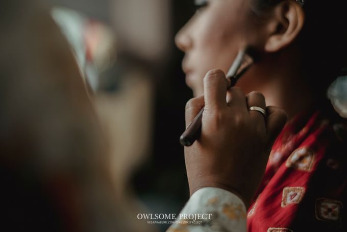 Rara Ben Wedding by Ambar Paes Traditional Wedding Make Up - 003