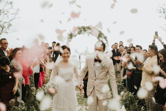 Chris & Calista Real Wedding at The Stone House by Tirtha by Tirtha Bali - 029
