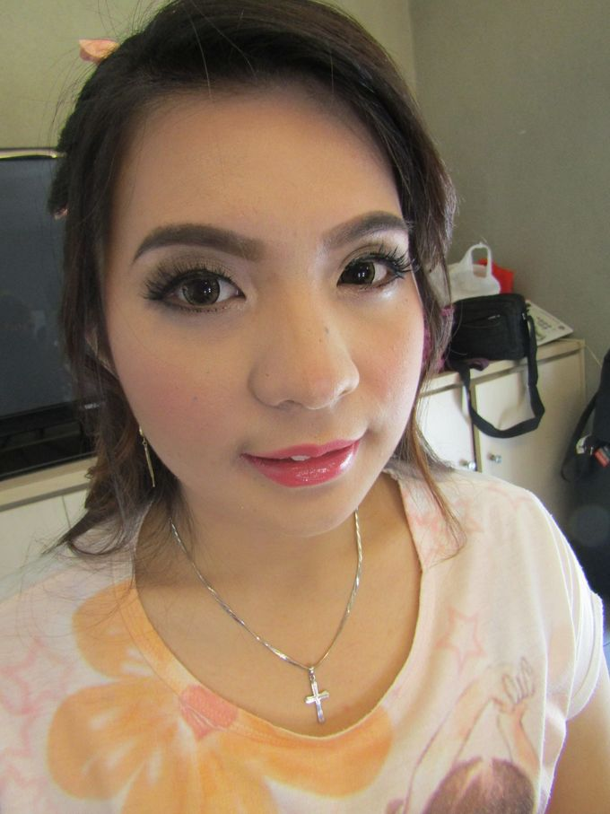 Add To Board Bridesmaid Make Up By Sissy Makeup Artis 004