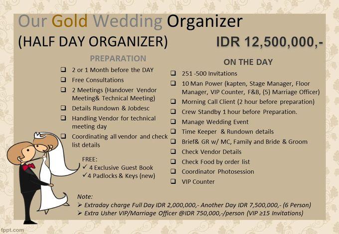Pricelist The Organizer 2020 by Our Wedding & Event Organizer - 003