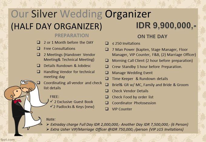 Pricelist The Organizer 2020 by Our Wedding & Event Organizer - 004