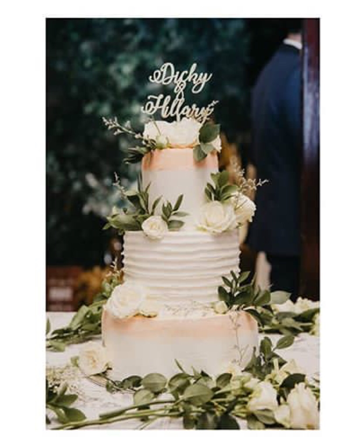 Dicky & Hillary Wedding by Oursbake - 002