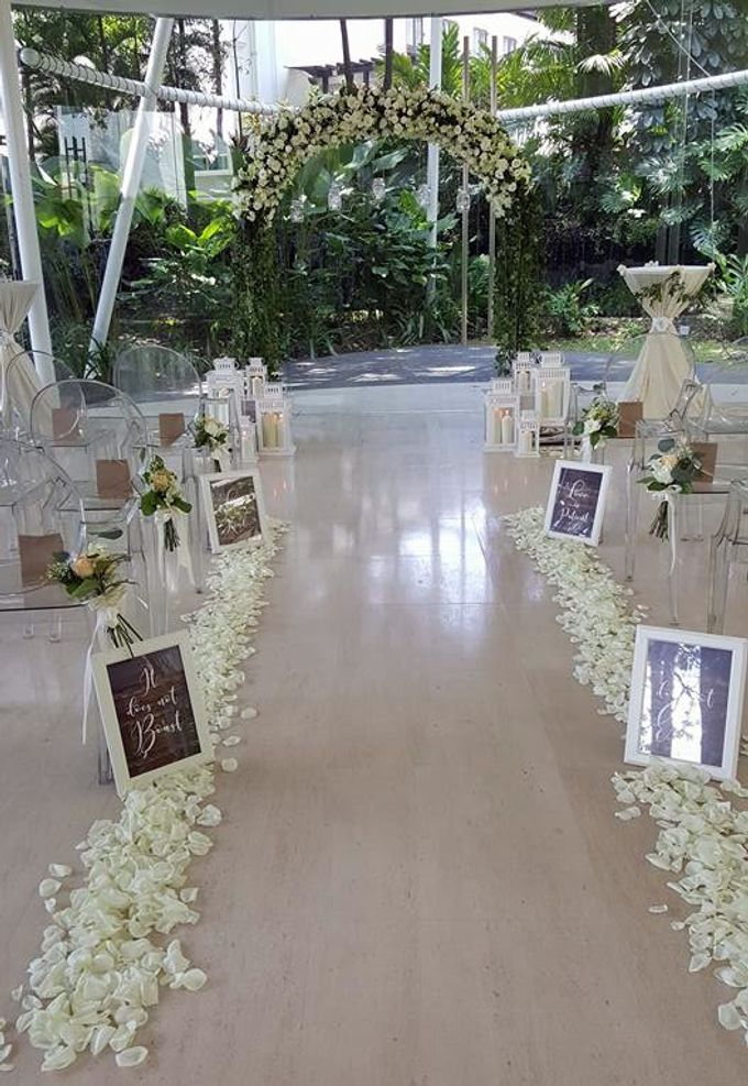 Wedding at Amara Glass Pavilion by The Olive 3 (S) Pte Ltd - 006