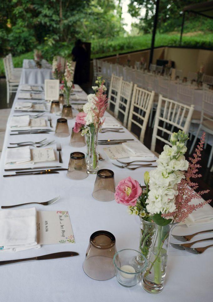 Wedding at Nosh Restaurant by The Olive 3 (S) Pte Ltd - 004