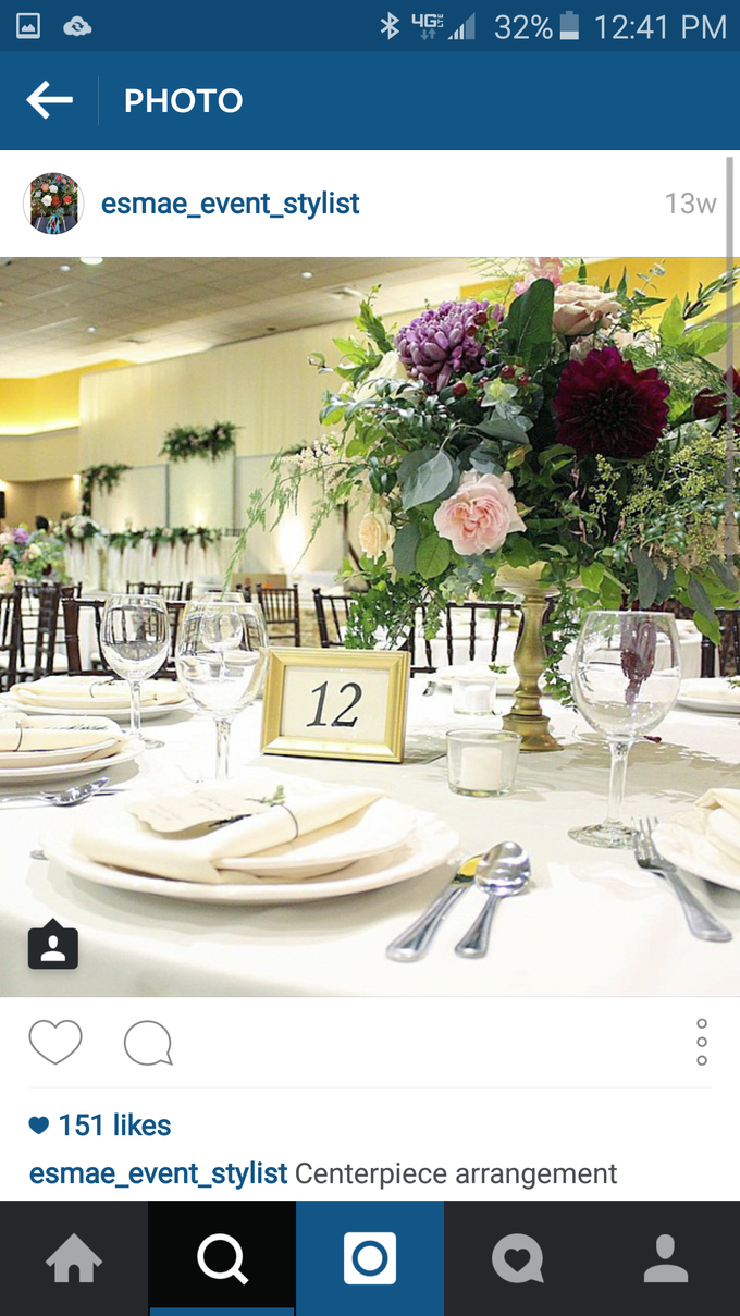 Romantic Wedding by Esmae Event Floral Design - 006