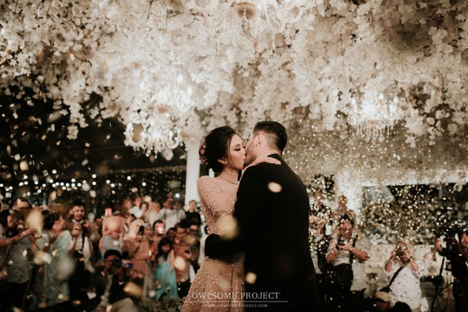 Ritchie & Syahnaz Wedding by Pine Hill Cibodas - 015