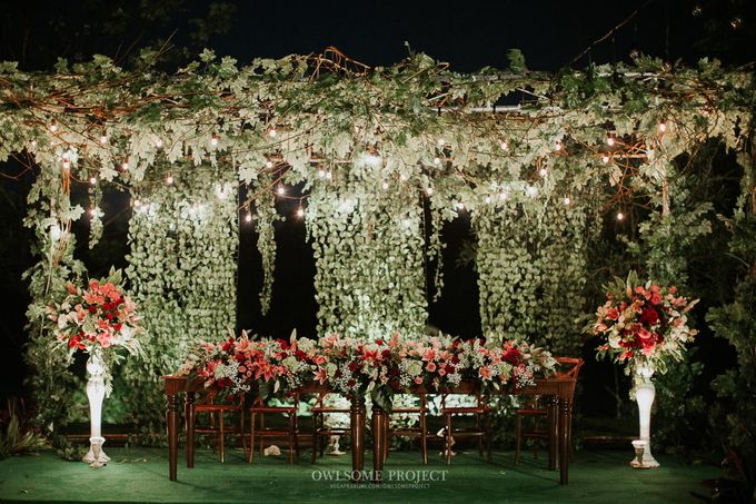 PATRICK & STEPHANY by Raffles Hills Cibubur - On Green Garden Venue - 002