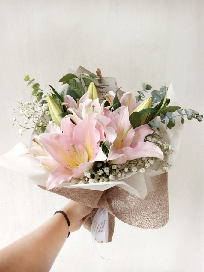 Gift Bouquet by Tiffany's Flower Room - 010