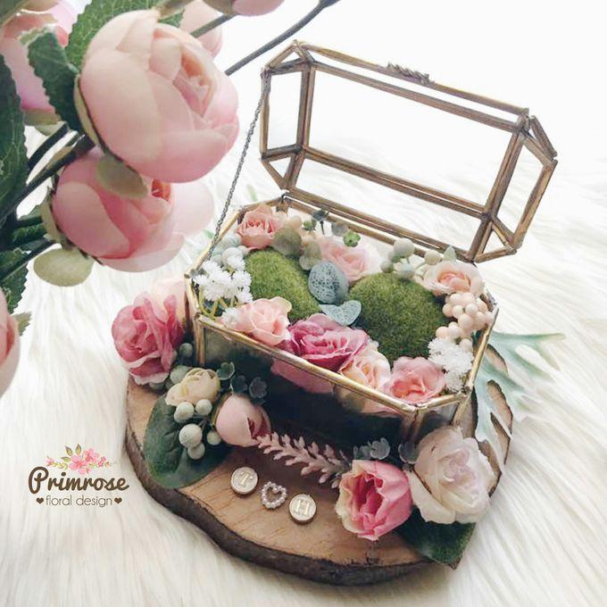Wedding Ring Box by Primrose Floral Design - 028